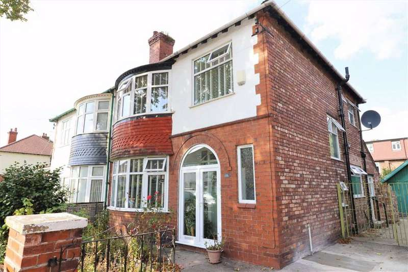 3 Bedrooms Semi Detached House for sale in Ruskin Road, Old Trafford, Trafford, M16
