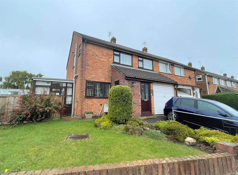 3 Bedrooms Semi Detached House for sale in Quarry Gardens, Dursley, GL11 6HW