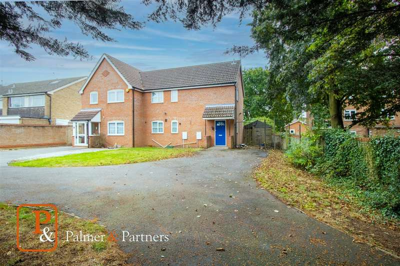 3 Bedrooms Semi Detached House for sale in Mayberry Walk, Colchester, CO2