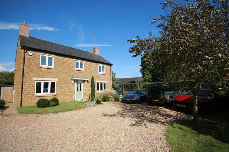 4 Bedrooms Detached House for sale in Great Easton, Market Harborough