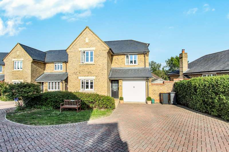 4 Bedrooms Detached House for sale in Canons Close, Wootton, Bedford, MK43