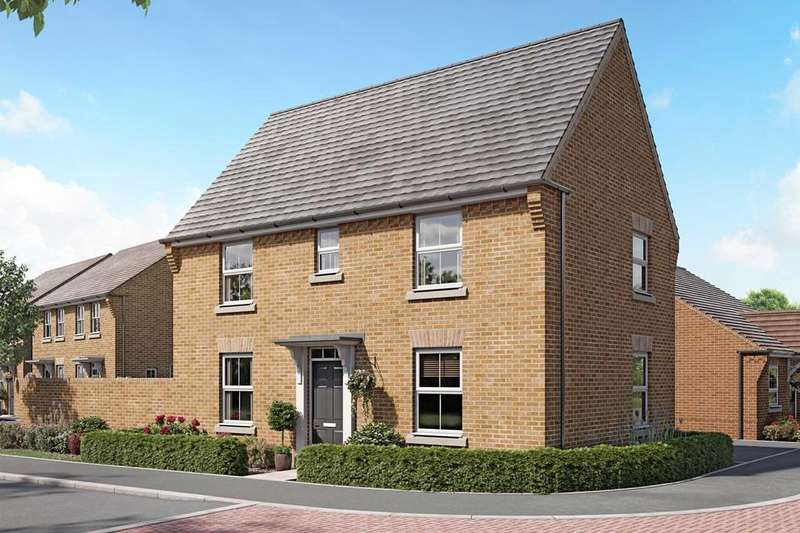 3 Bedrooms House for sale in Hadley, New Lubbesthorpe, Tweed Street, Lubbesthorpe, LEICESTER, LE19 4BH