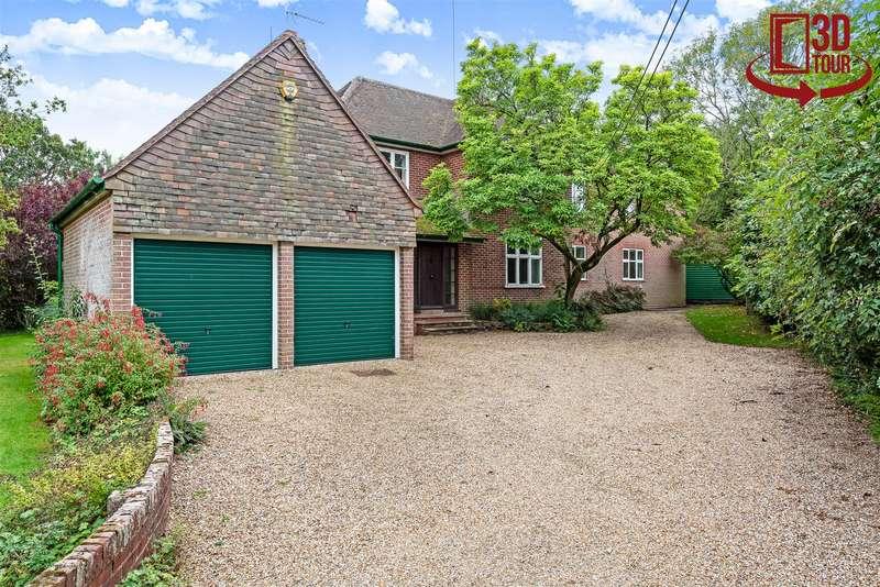 5 Bedrooms Detached House for sale in Uplands, Basingstoke Road, Swallowfield, Berkshire, RG7 1PY