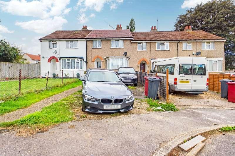3 Bedrooms Terraced House for sale in Rockbourne Gardens, Tilehurst, Reading, Berkshire, RG30