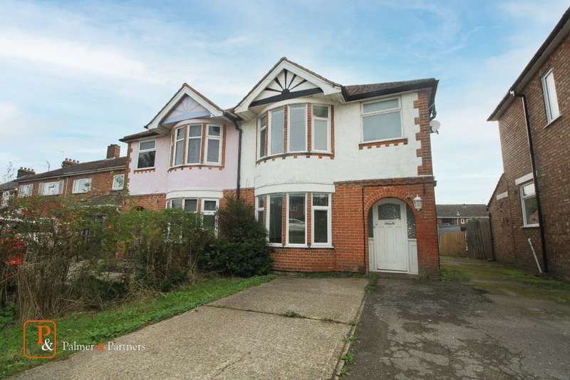 3 Bedrooms Semi Detached House for rent in Ipswich Road, Colchester, Essex, CO4
