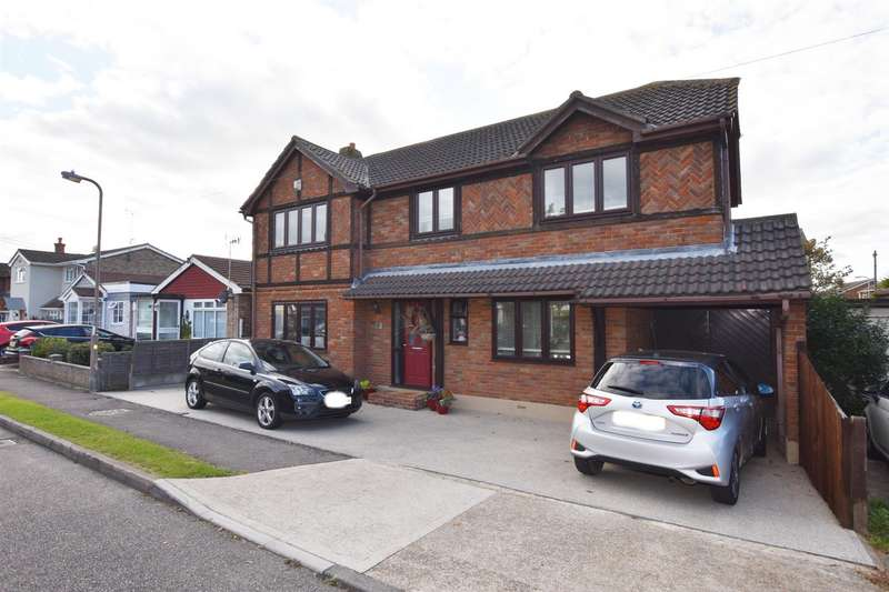 4 Bedrooms Detached House for sale in Nevada Road, Canvey Island