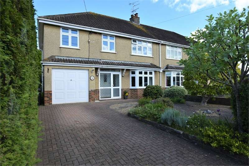5 Bedrooms Semi Detached House for sale in Goss Lane, Nailsea, Bristol, North Somerset