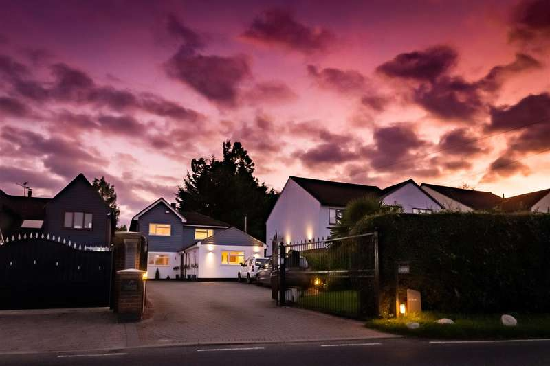 4 Bedrooms Detached House for sale in Epping Road, Nazeing