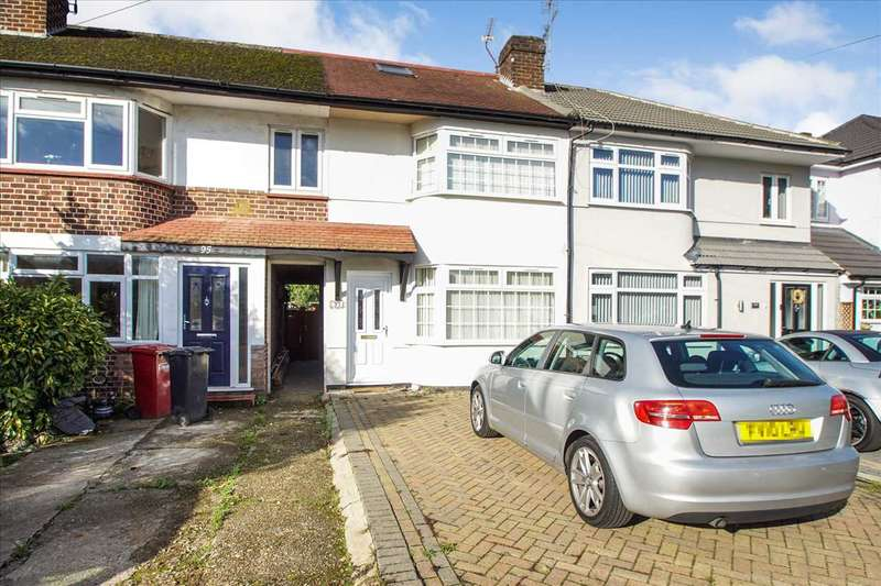 3 Bedrooms Terraced House for sale in Stanhope Road, Cippenham, Slough