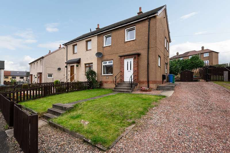 2 Bedrooms Semi Detached House for sale in Castle Crescent, Kennoway, Fife, KY8 5EY