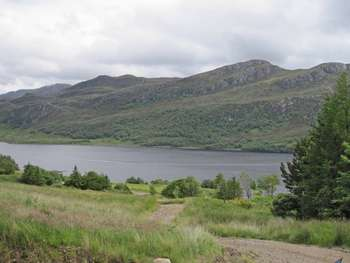 3 Bedrooms Land Commercial for sale in PLOT AT SALLACHY: Idyllic rural location with loch and mountain views