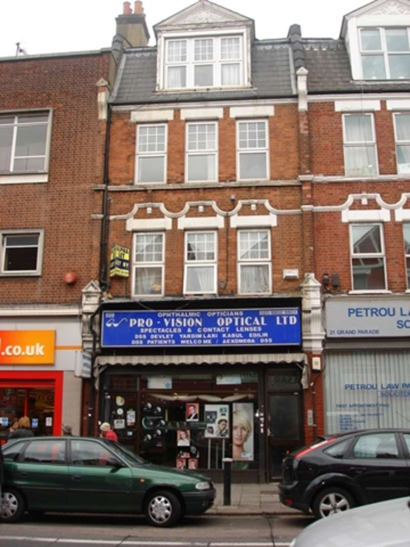 Commercial Property for sale in Freehold property compising of shop premises and 3 self contained flats