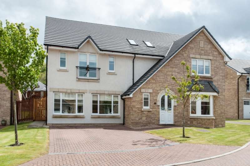 5 Bedrooms Detached Villa House for sale in Terringzean View, Cherrytrees, Cumnock, East Ayrshire, KA18 1FB