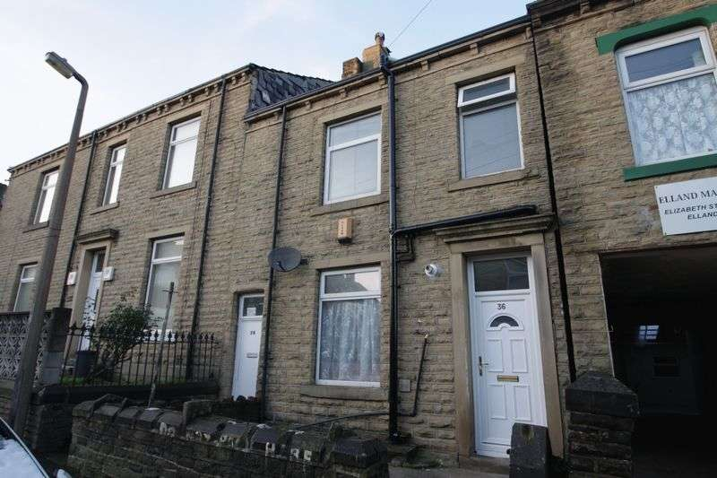 2 Bedrooms Terraced House for sale in Elizabeth Street, Elland