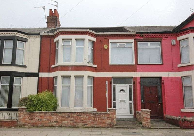 4 Bedrooms Terraced House for sale in Corinthian Avenue, Old Swan, Liverpool, L13