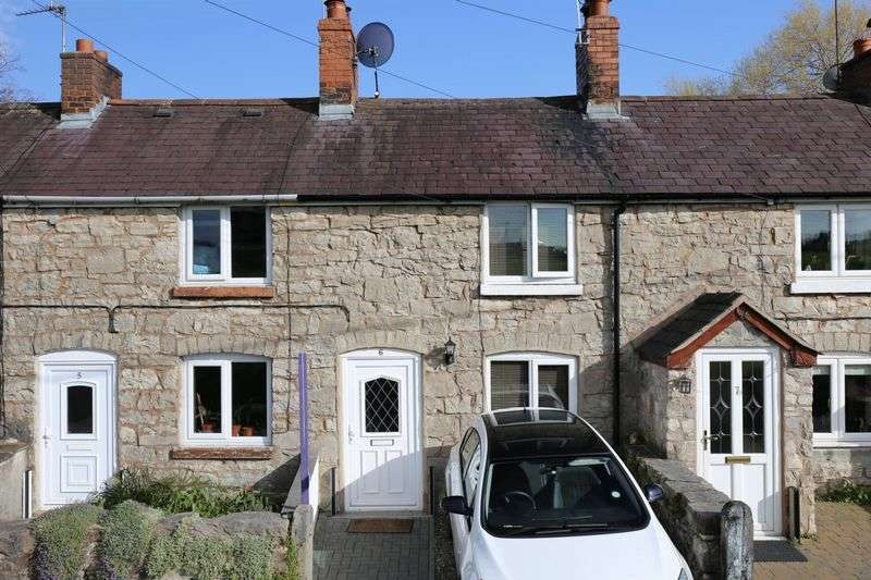 2 Bedrooms Terraced House for sale in Brookhouse, Denbigh