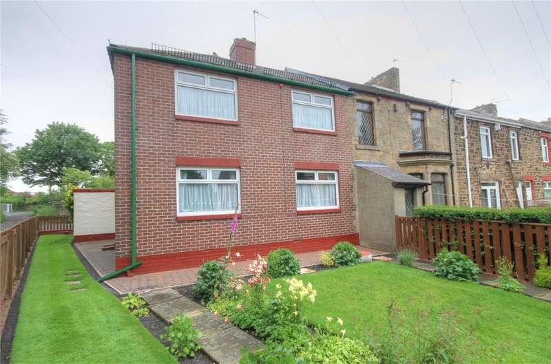 3 Bedrooms End Of Terrace House for sale in Baker Street, Leadgate, Consett, DH8