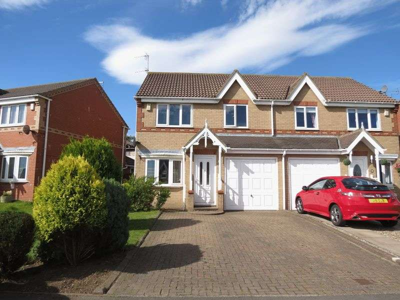3 Bedrooms Semi Detached House for sale in Garside Grove, Peterlee