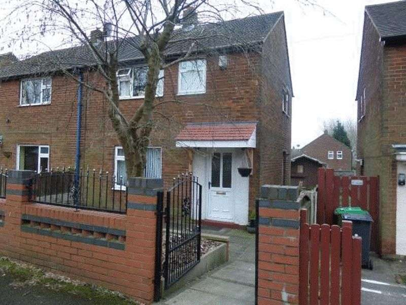 2 Bedrooms Semi Detached House for sale in St Martins Road, Oldham