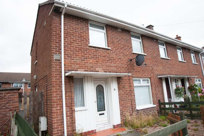2 Bedrooms End Of Terrace House for sale in Flush Gardens, Belfast, County Antrim, BT6