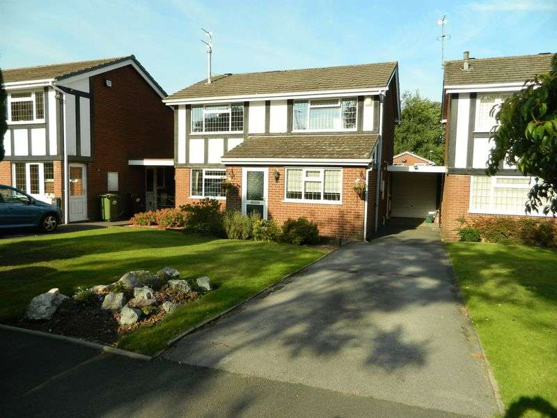 4 Bedrooms Detached House for sale in Woodcote Road, Tettenhall, Wolverhampton