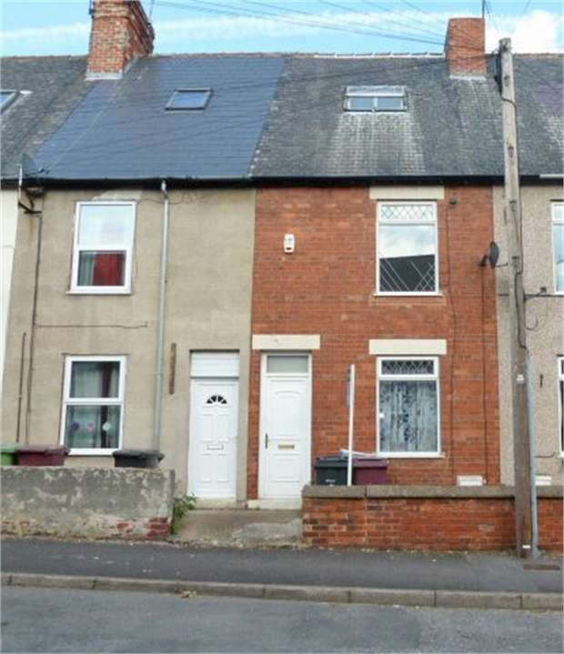 3 Bedrooms Terraced House for sale in John Street, Creswell, Worksop, Nottinghamshire