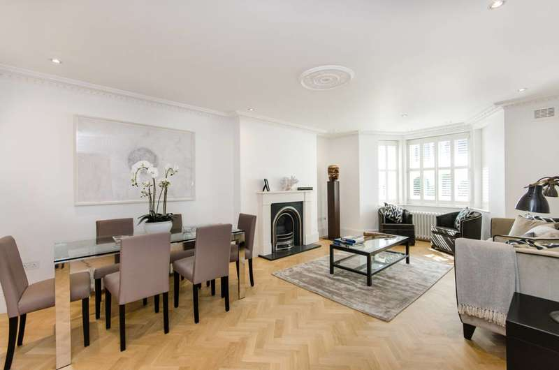 2 Bedrooms Flat for sale in Redcliffe Gardens, Chelsea, SW10