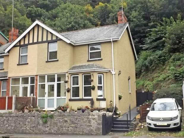 3 Bedrooms Semi Detached House for sale in Conway Road, Mochdre, Colwyn Bay, Conwy