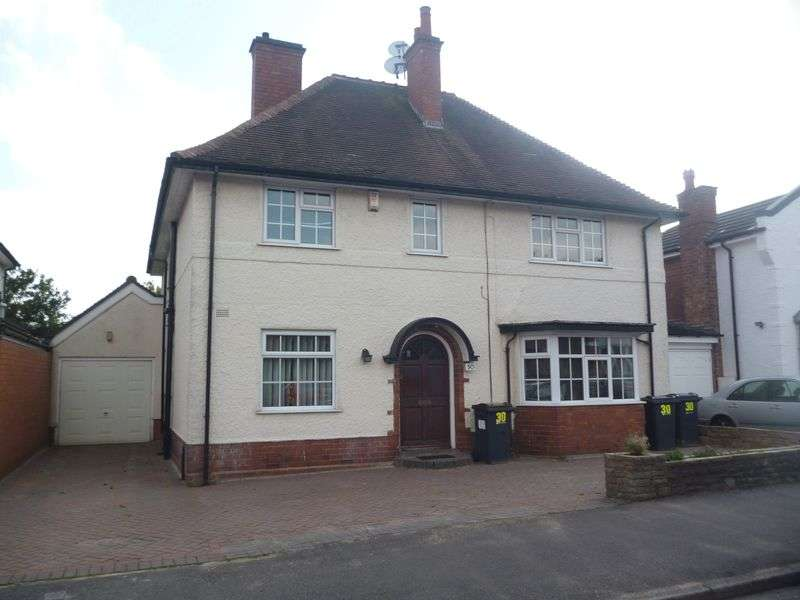 4 Bedrooms Detached House for sale in Crosbie Rd, Harborne B17 9BE - 4 Bedroom Detached, garage and driveway