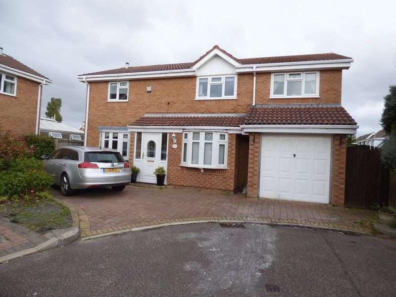 4 Bedrooms Detached House for sale in Woodleigh Close, Lydiate