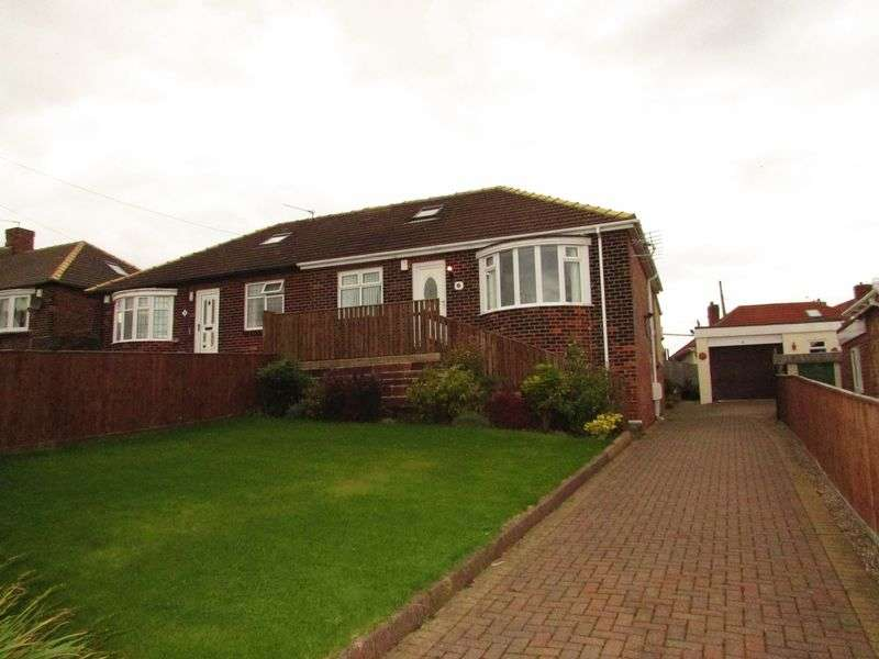 2 Bedrooms Semi Detached Bungalow for sale in Hesleden Road, Hartlepool