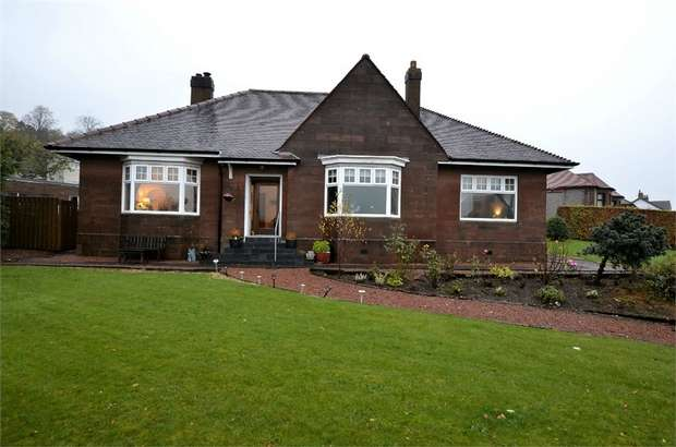 3 Bedrooms Detached Bungalow for sale in Campbell Street, Darvel, East Ayrshire