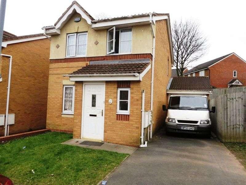 3 Bedrooms Detached House for sale in Morgan Close, Oldbury