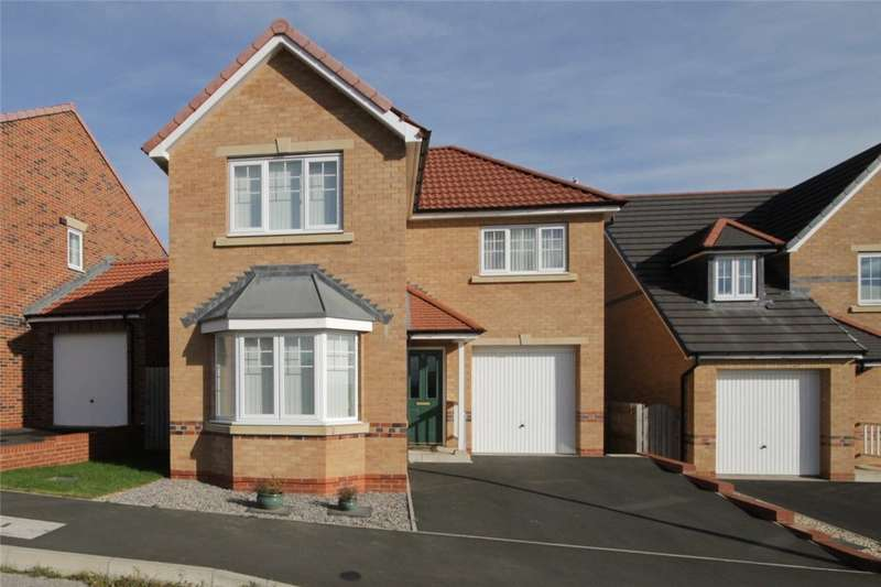 3 Bedrooms Detached House for sale in Redmire Drive, Delves Lane, Consett, DH8