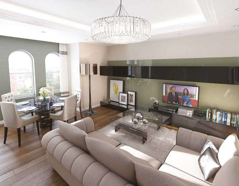 3 Bedrooms Flat for sale in Kensington High Street, South Kensington, W8