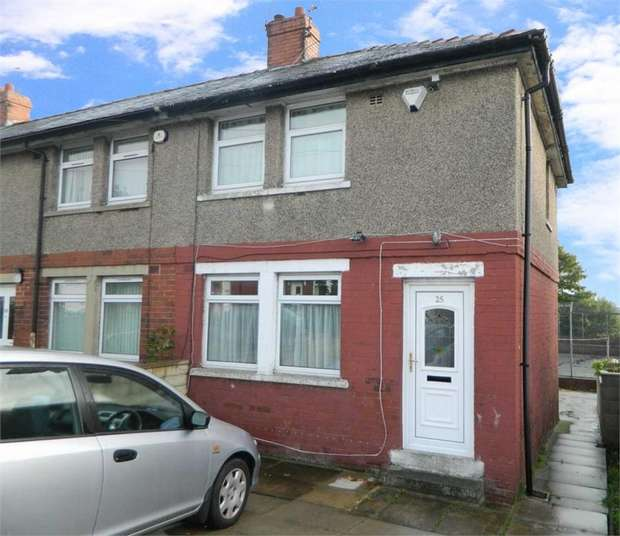 2 Bedrooms End Of Terrace House for sale in Weetwood Road, Bradford, West Yorkshire