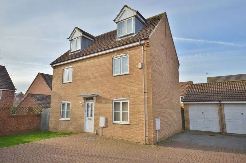 4 Bedrooms Detached House for sale in Watson Close, Corby