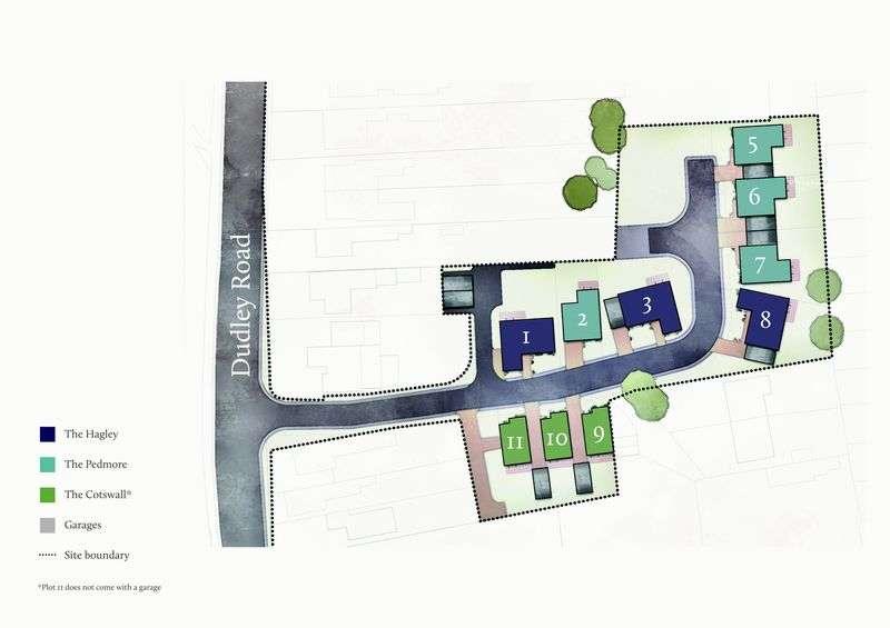 2 Bedrooms Detached Bungalow for sale in New Development 'Algar Grange', Off Dudley Road, Sedgley