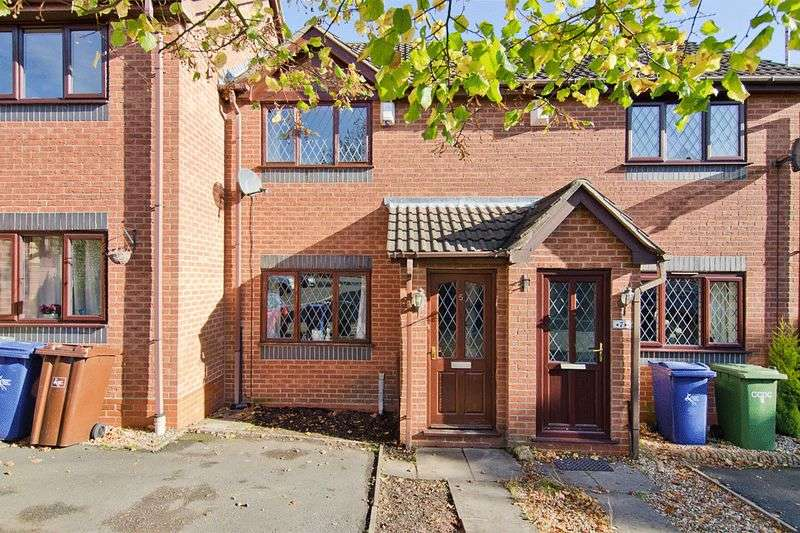 2 Bedrooms Terraced House for sale in Sandpiper Close, Hednesford, Cannock