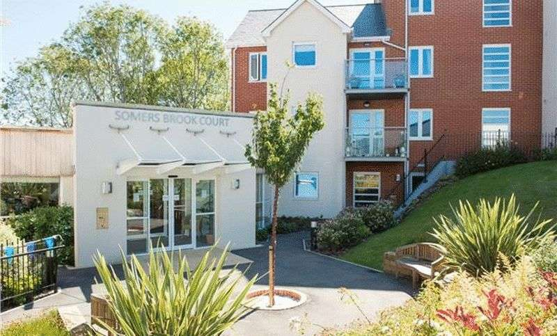 1 Bedroom Flat for sale in Somers Brook Court,Foxes Road, Newport: NEW HOME one bed first floor retirement property