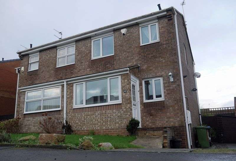 3 Bedrooms Semi Detached House for sale in Lindisfarne, Peterlee