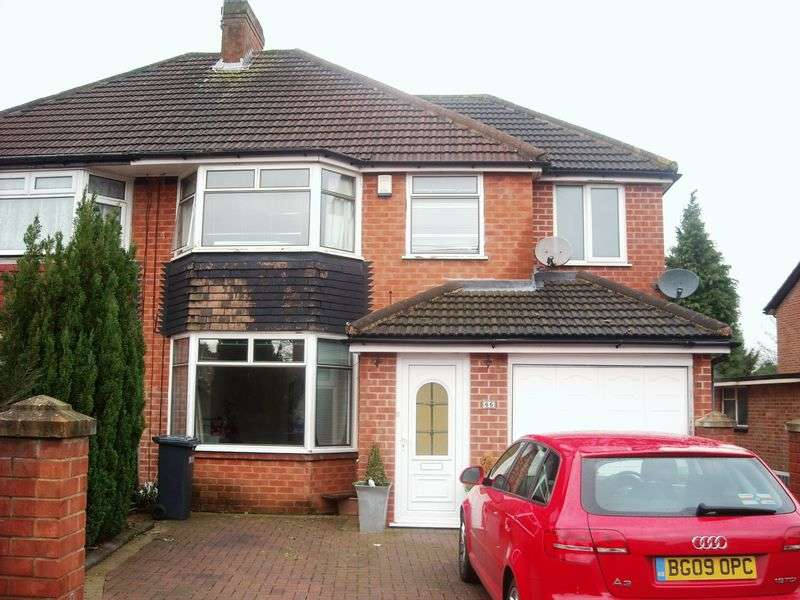 4 Bedrooms Semi Detached House for sale in Fernhill Road Solihull B92 - Four bed Semi-detached, Garage & drive
