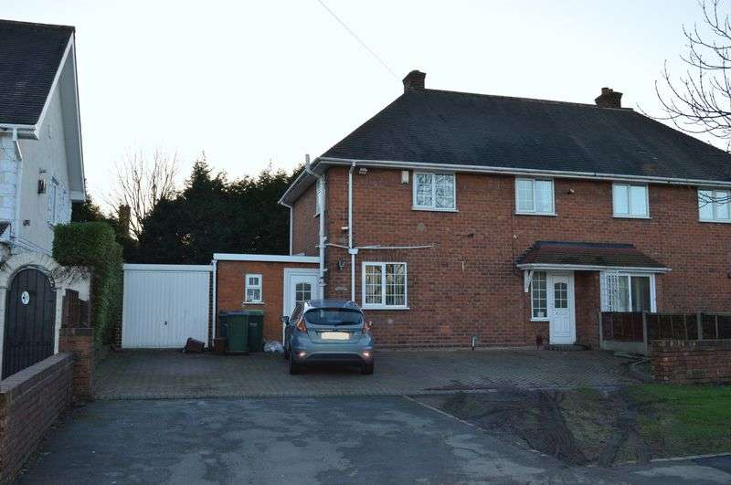 3 Bedrooms Semi Detached House for sale in Glebefields Road, Tipton