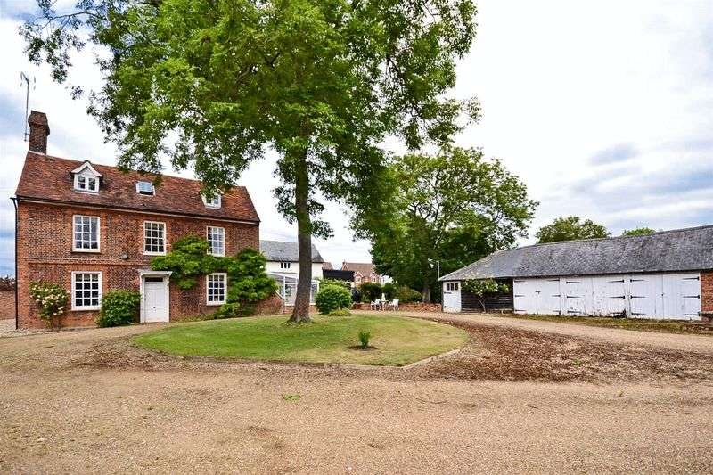 5 Bedrooms Detached House for sale in Widford, Hertfordshire