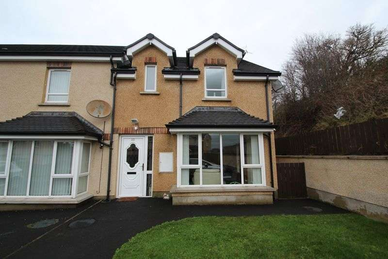 3 Bedrooms Terraced House for sale in 23 Brookvale Crescent, Aghory