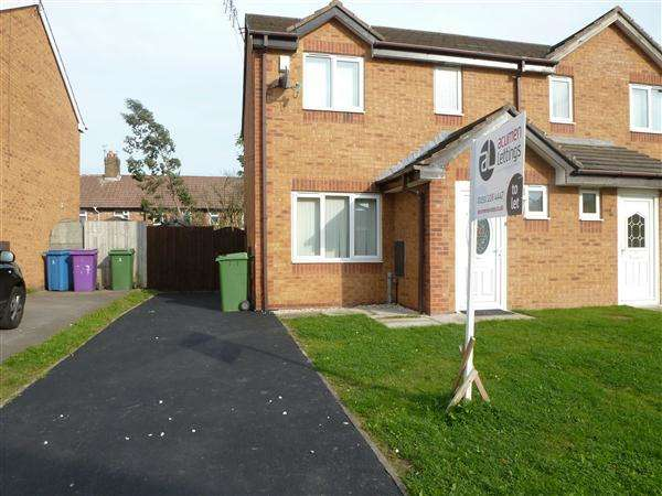 3 Bedrooms Semi Detached House for sale in Crossford Road, Dovecot, Liverpool