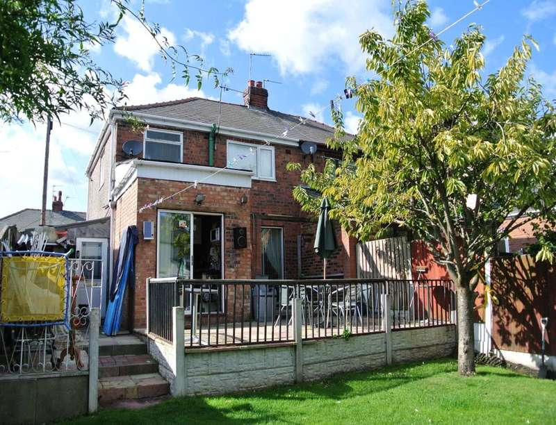 3 Bedrooms Semi Detached House for sale in Poplar Grove, Prescot, L35