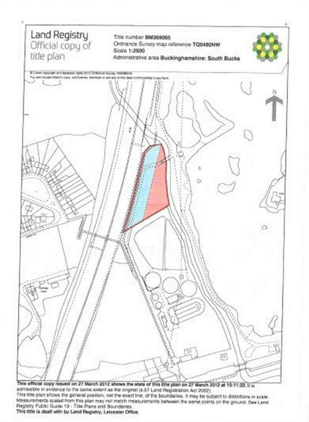 Land Commercial for sale in Ford Lane, Iver, Buckinghamshire
