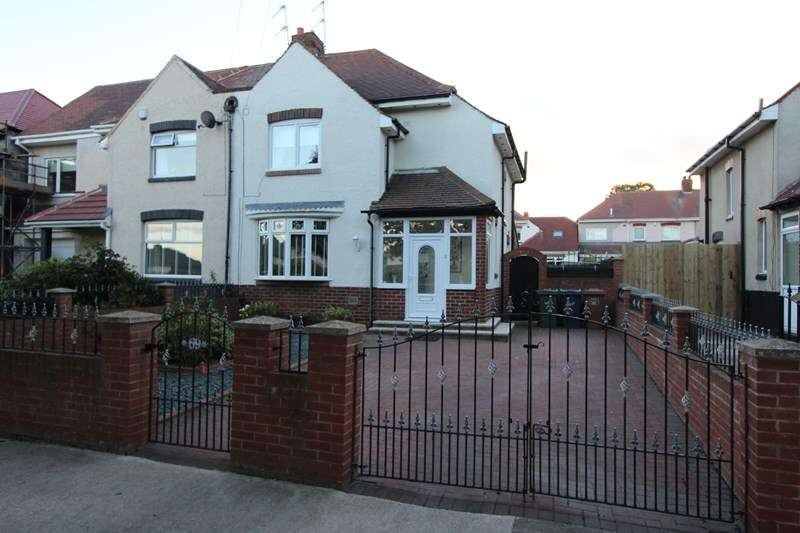 3 Bedrooms Semi Detached House for sale in Hunter Terrace, Grangetown, Sunderland