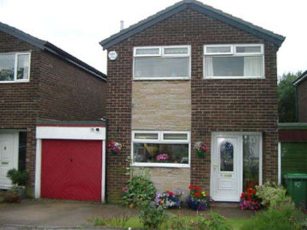 3 Bedrooms Detached House for sale in Hollin Crescent, Greenfield